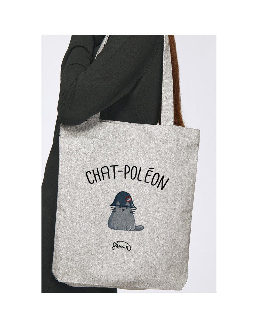 """Tote Bag """"Chat-Poléon"""""""