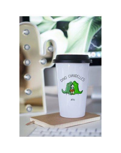 """Mugs Take away """"Dino chandelle"""""""