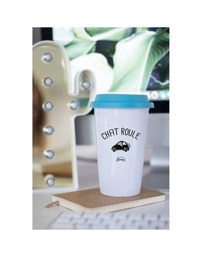"Mugs Take away ""Chat-roule"""
