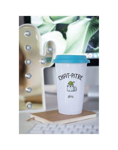 "Mugs Take away ""Chat-pitre"""