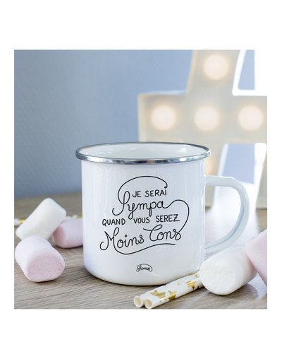 Mug Je serai sympa quand vous serez moins con