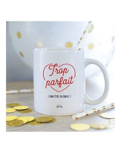 Mug Trop parfait pour être en couple