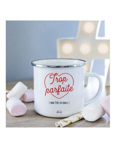 Mug Trop parfaite pour être en couple