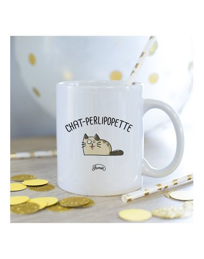 Mug Chat-perlipopette
