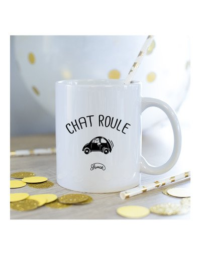 Mug Chat roule