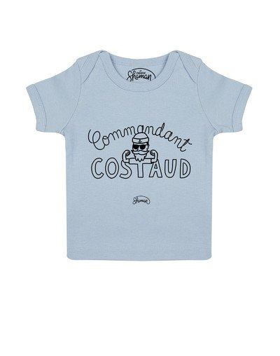 "Tee-shirt ""Commandant Costaud"""