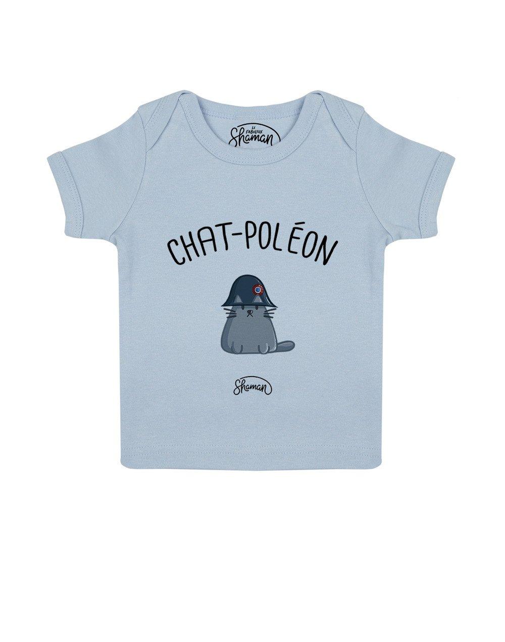 "Tee-shirt ""Chat-Poléon"""