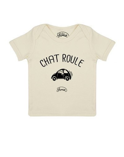"""Tee-shirt """"Chat-Roule"""""""