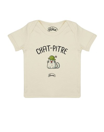 """Tee-shirt """"Chat-Pitre"""""""