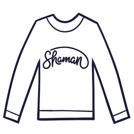 7a4522c736e2 Tee shirt à message imprimés. Tee shirt originaux pour Femme SHAMAN ...