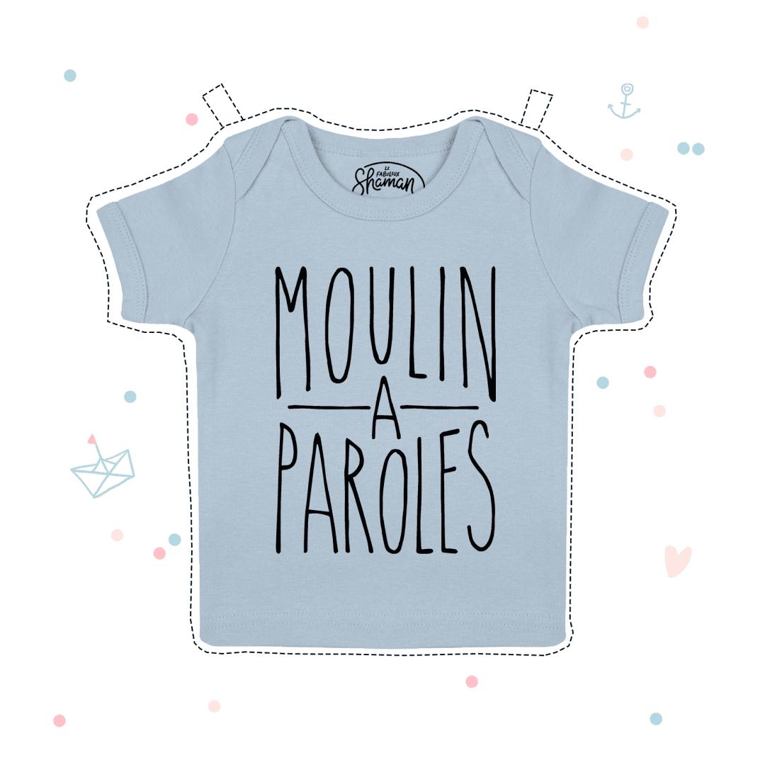 t-shirt Moulin a parole